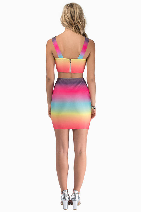 Color Burst Dress