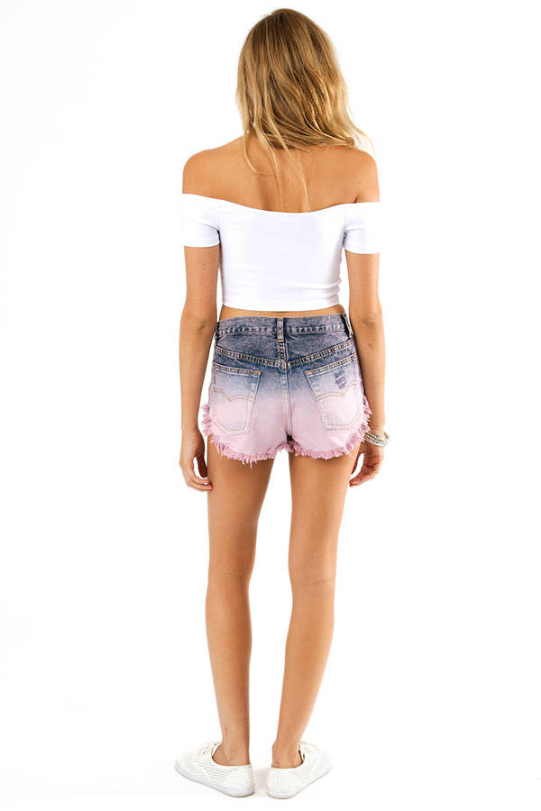 Ode to Ombre Shorts