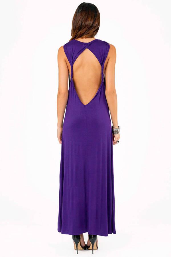 Tobi twisted maxi dress