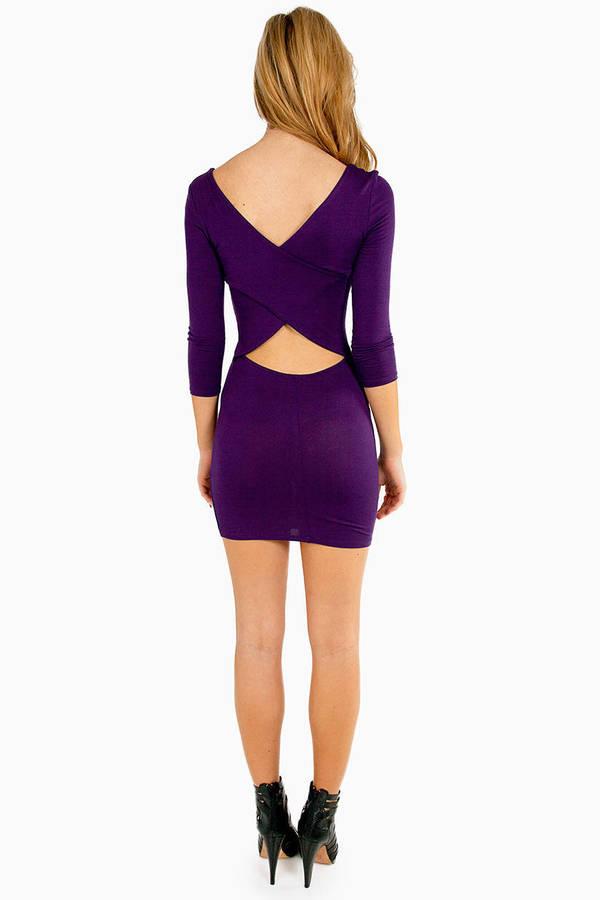 Around The Back Dress