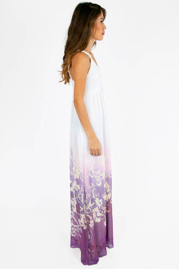 Lower Haight Floral Maxi Dress