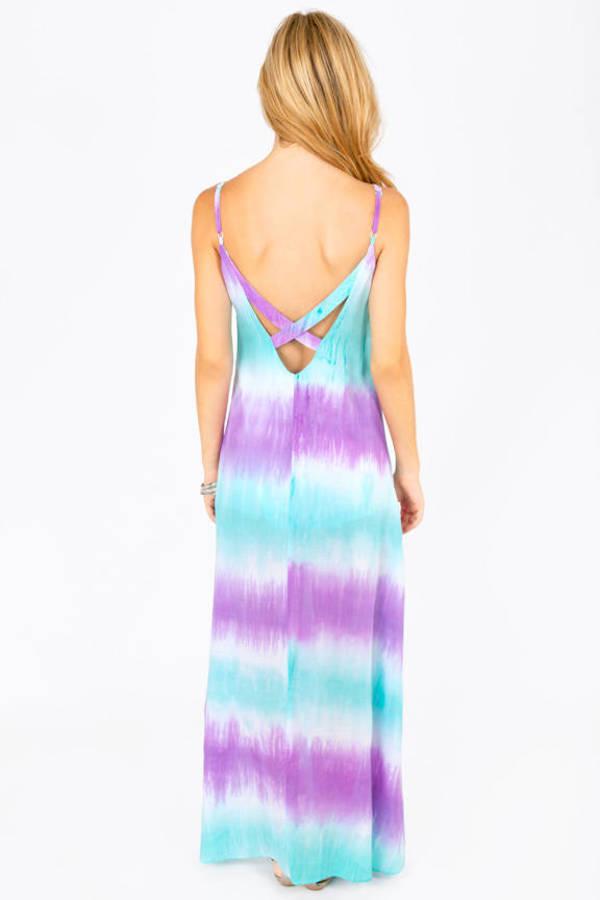 Cailin Tie Dye Maxi Dress