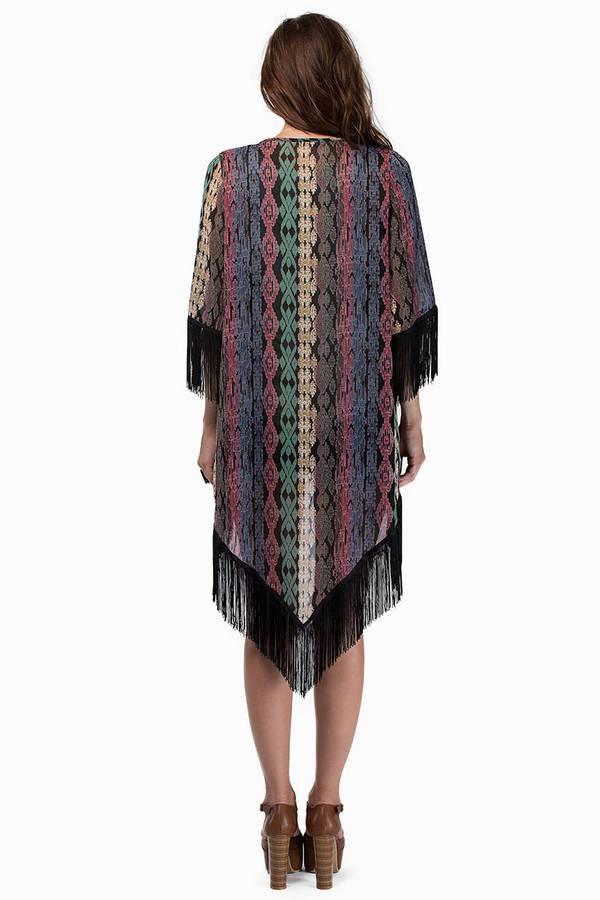 Runaway Tribal Kimono