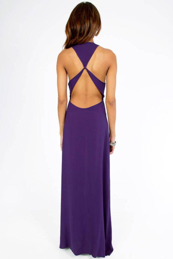 Rae Cuts Back Maxi Dress