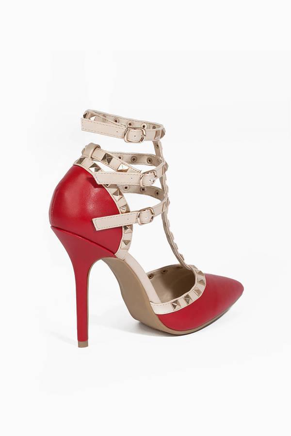 Blogger Studded Heel