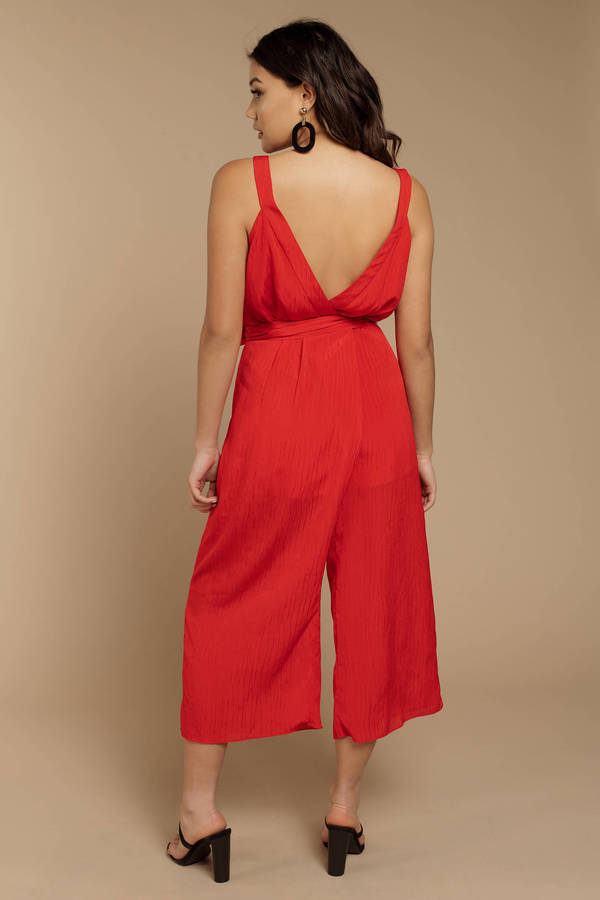 8594cde74ba ... The Fifth Label The Fifth Label Gilded Red Jumpsuit