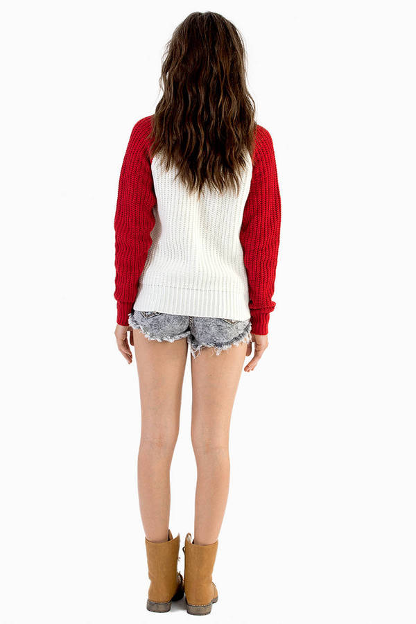 Racing Regina Knit Sweater