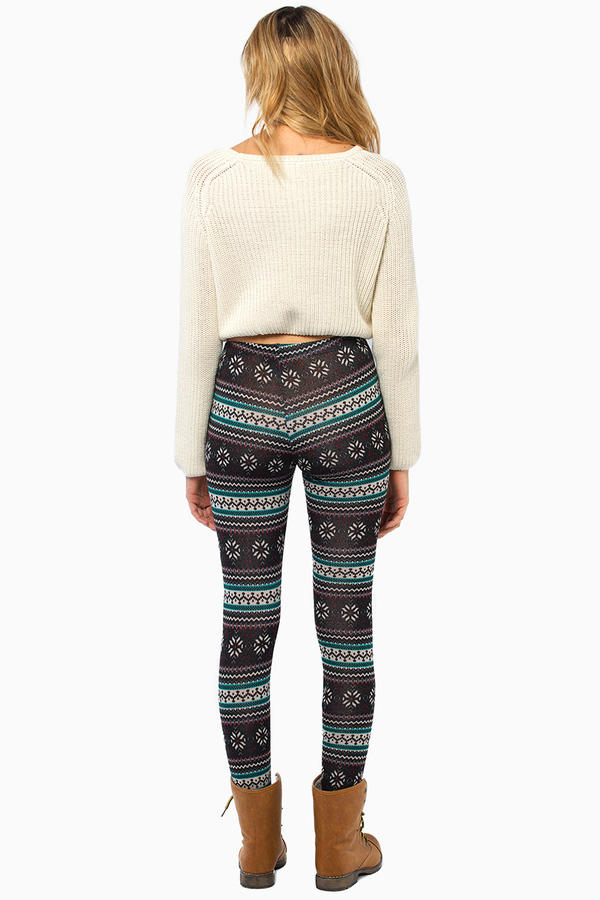 Cozy Printed Leggings