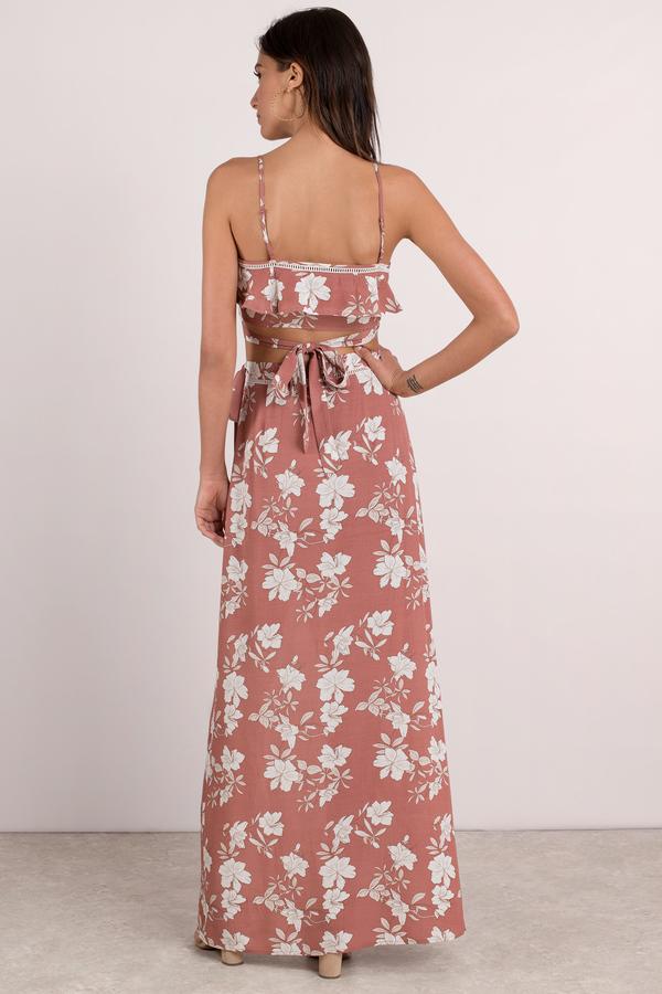Pink skirt wrap maxi skirt pink floral maxi skirt 39 tobi us flower child rose wrap maxi skirt mightylinksfo