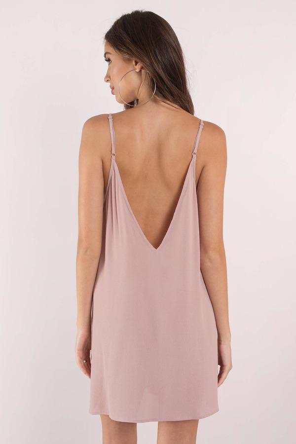 Backless Slip Dress