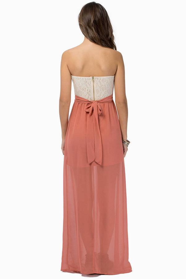 Open Heart Maxi Dress