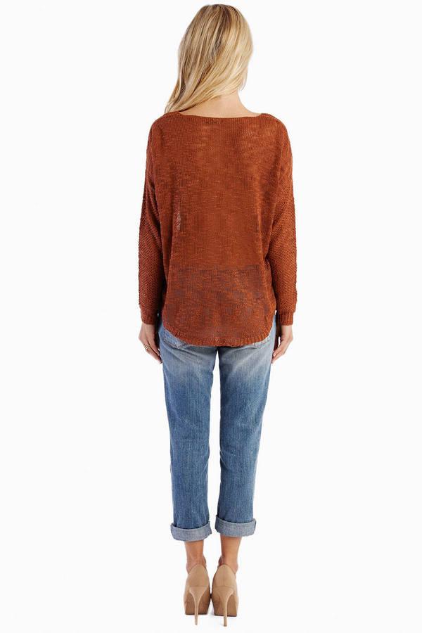 Round the Neck Sweater