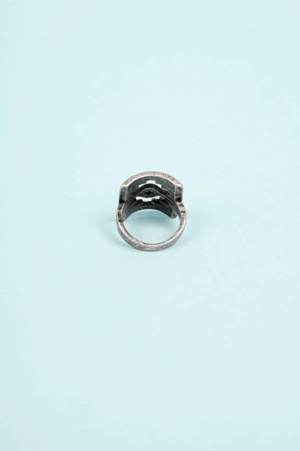 Aztec Eye Ring