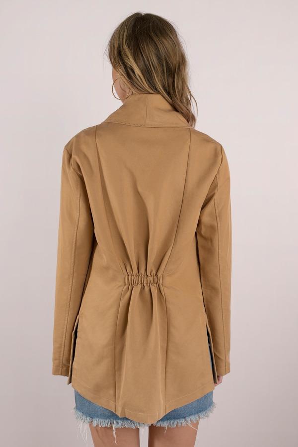 zara blazer poshmark drape draped leather drapes jacket faux listing m black