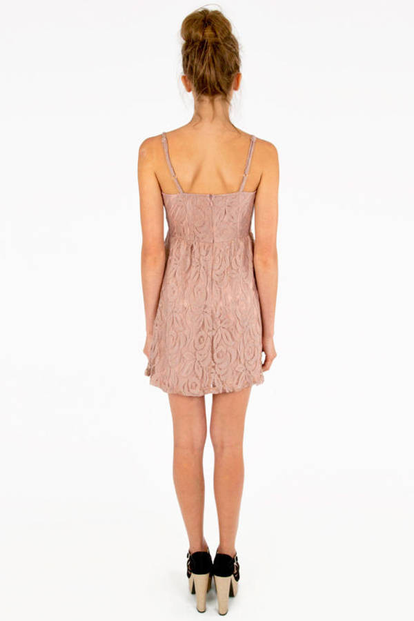 Come My Lacey Babydoll Dress