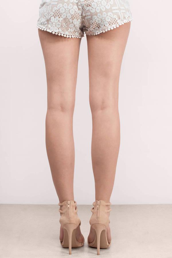 Cute Taupe Heels