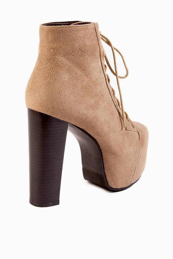 Iman Lace Up Boot