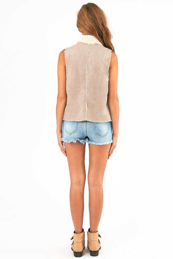 Klarah Faux Fur Vest