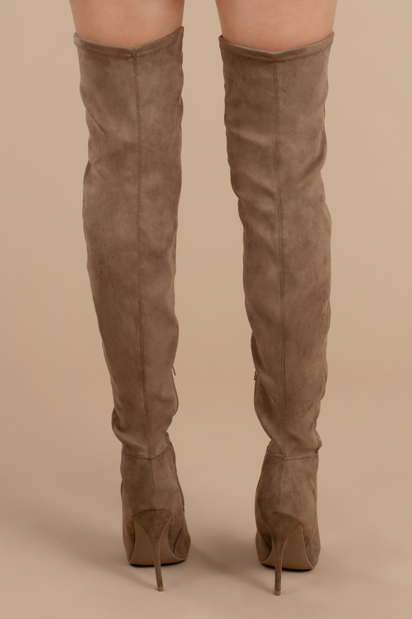 f5f5e7d7c21 Made For Walking Faux Suede Thigh High Boots