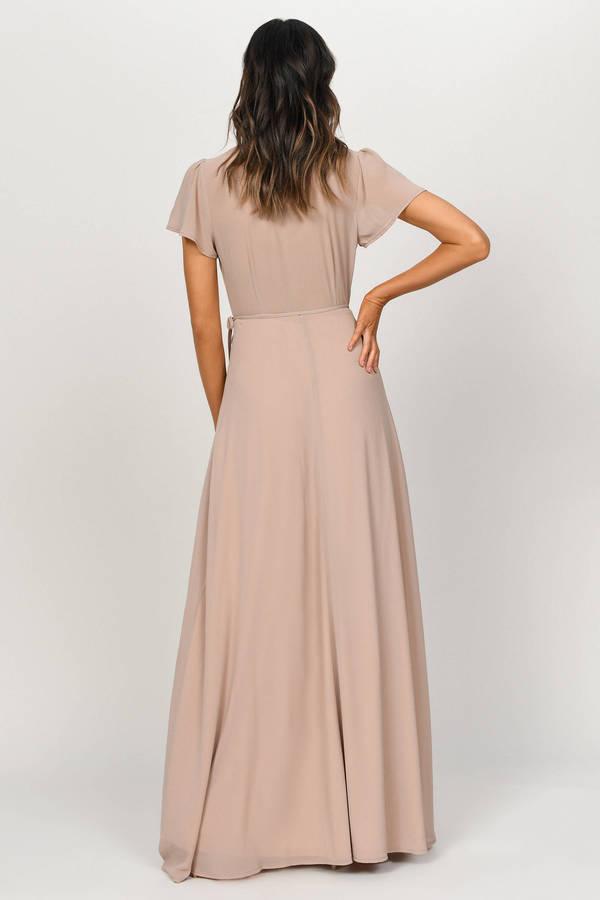 d3e89d68bd ... Piper Slate Plunging Maxi Dress ...