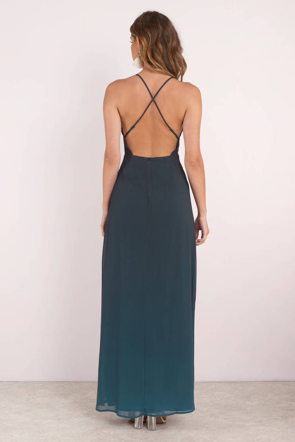 Maxi Jurk Turquoise.Sexy Blue Maxi Dress Dip Dye Maxi Dress Blue Gown 51 Tobi Us