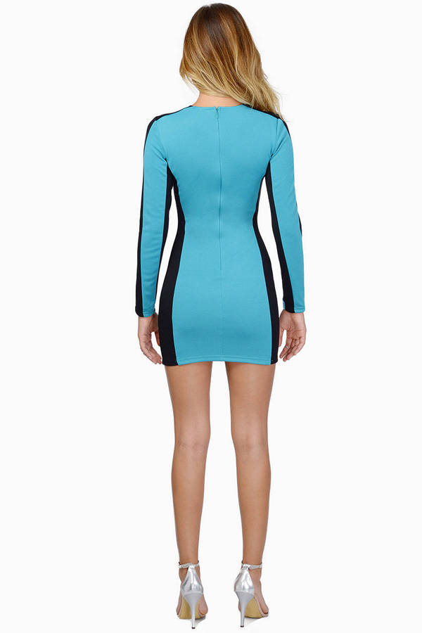 Move With Me Bodycon Dress