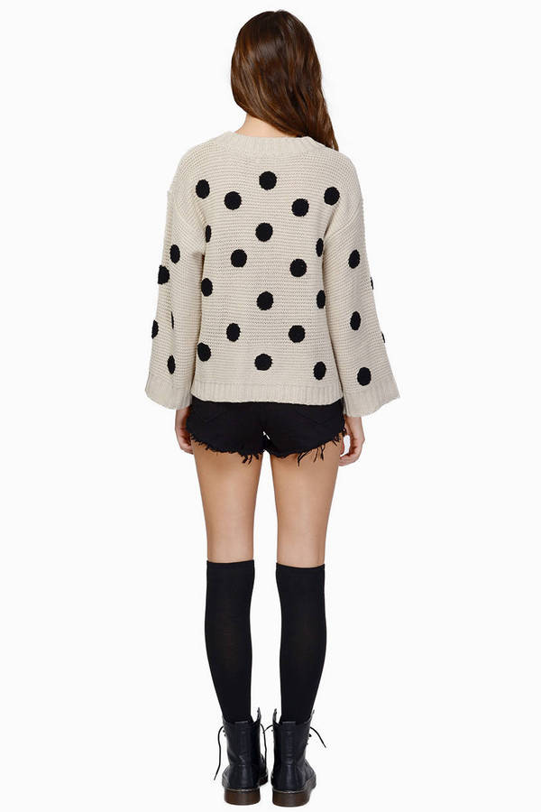 Penny For Your Dots Sweater