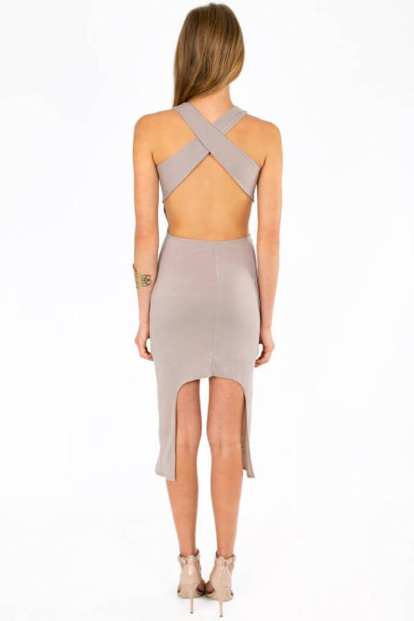 Mandy X Back Dress
