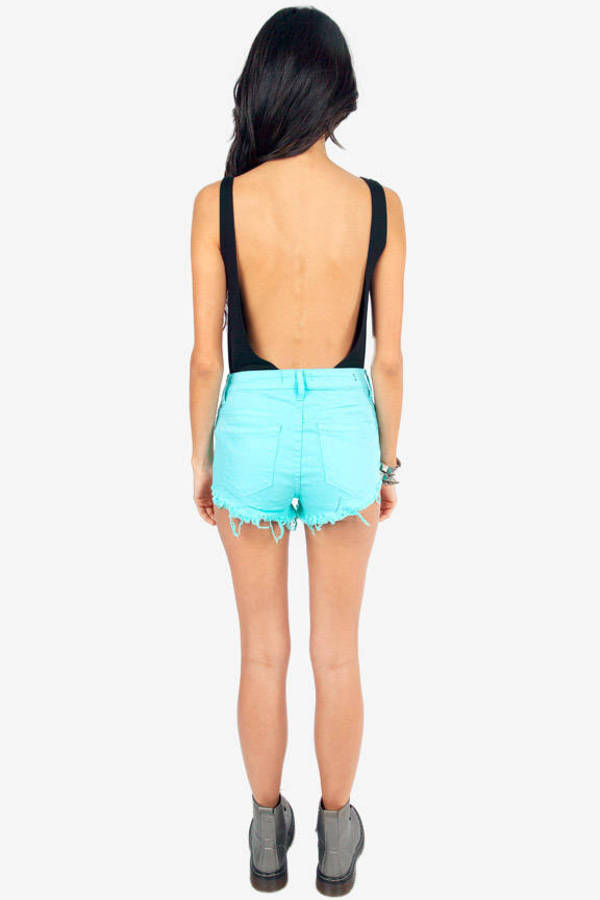 Calling Color High Waisted Shorts