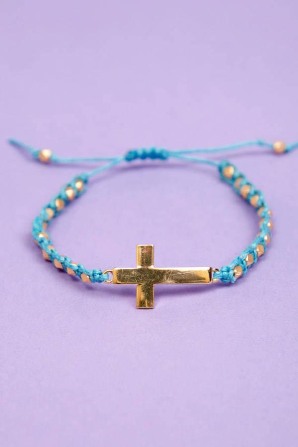 Cross Your Beads Wrap Bracelet