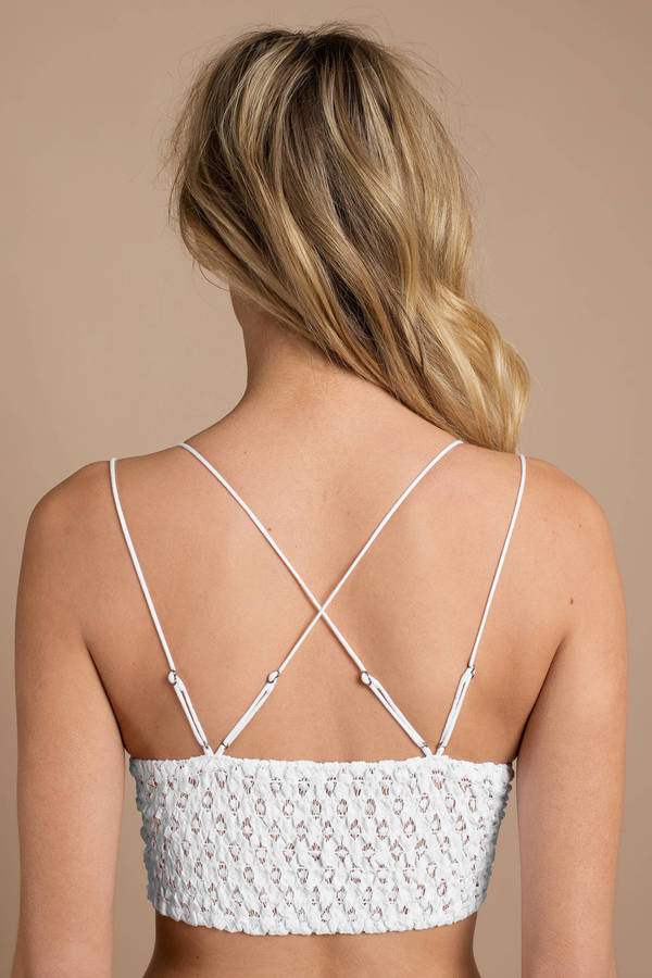 8d1d1bf73 ... Free People Free People Adella White Lace Bralette