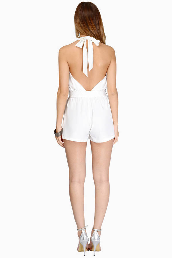 At the Halter Romper