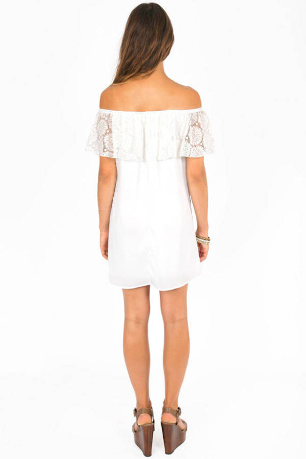 Carmelita Off Shoulder Dress