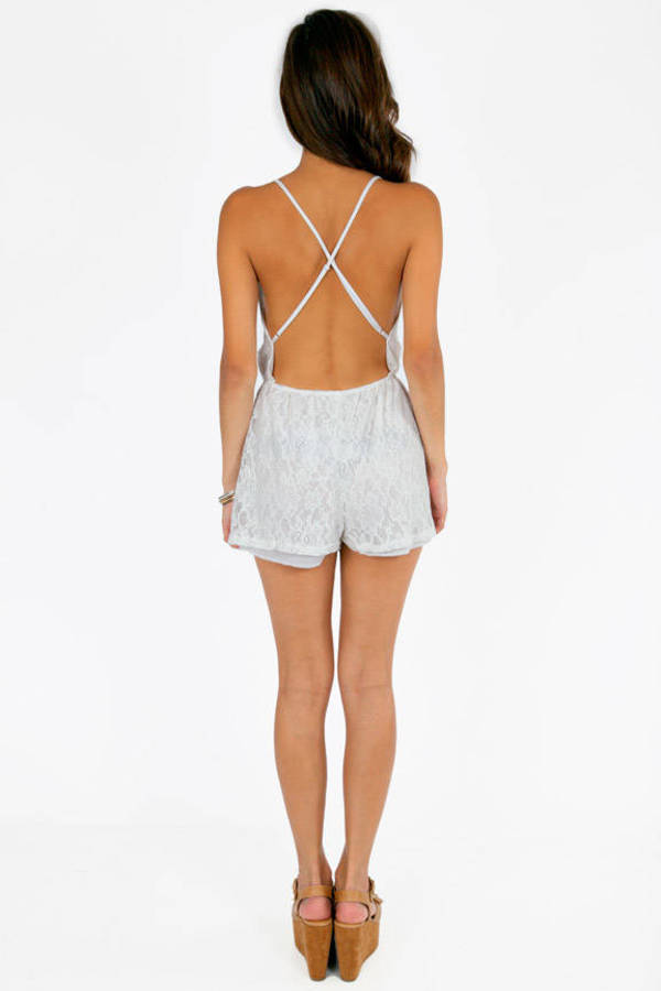 Chasing Lace Romper
