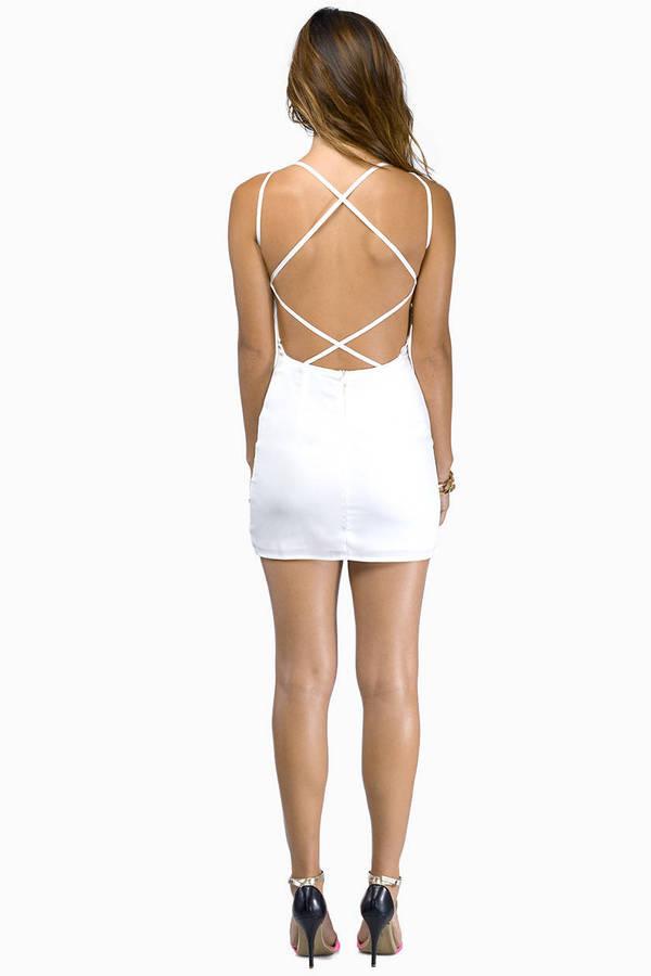Cradle Back Dress
