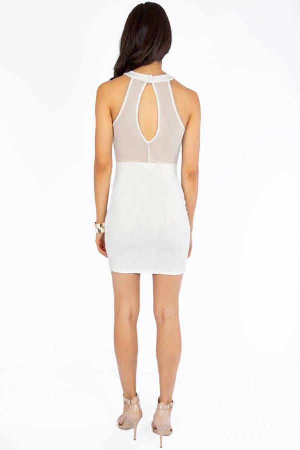 Embossy Bodycon Dress
