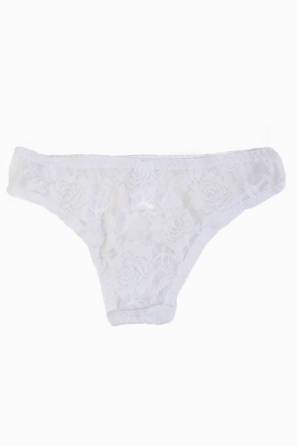Felicia Floral Lace Panties