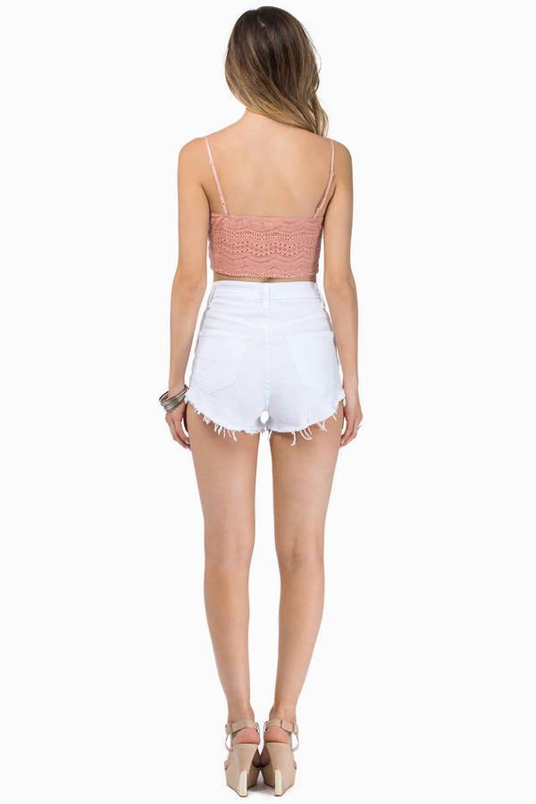 Fundamental Denim Shorts