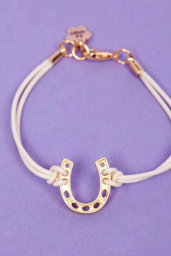 Horseshoe Charm Bracelet