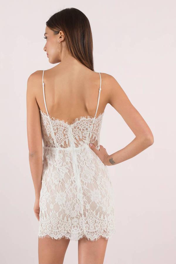 9ac78c8a43b White Bodycon Dress - Corset Dress - White Bustier Dress -  17