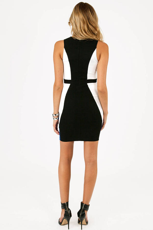 Kiki Geometric Bodycon Dress