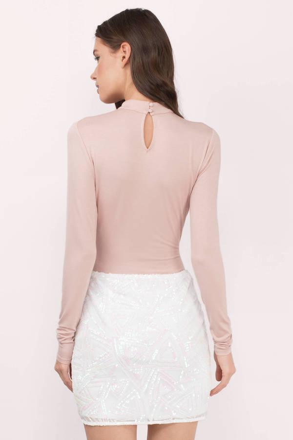 313aae2ece White Multi Skirt - Sequin Skirt - Mini Skirt - White Skirt - $10 ...