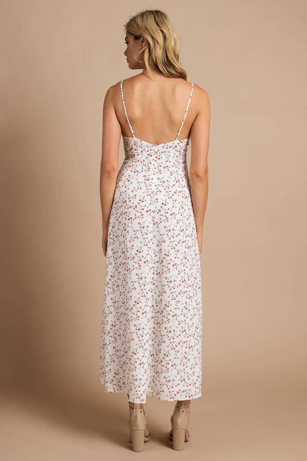 Maxi Dresses Long Dresses White Maxi Dress Floral