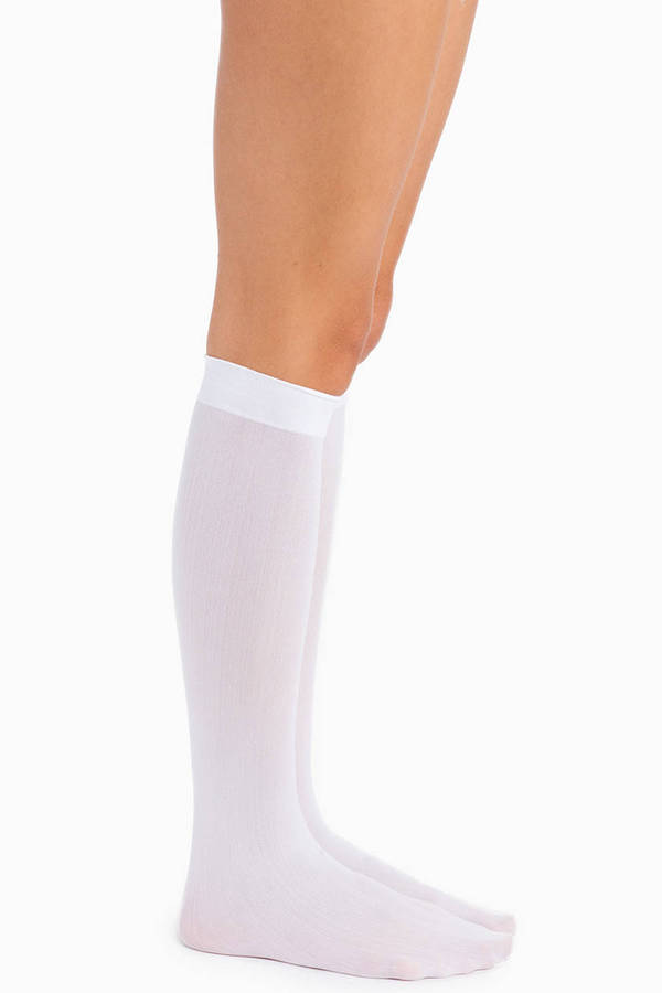 Nayeli Opaque Knee Highs