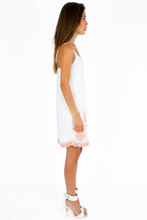 Alicia Embroidered Dress