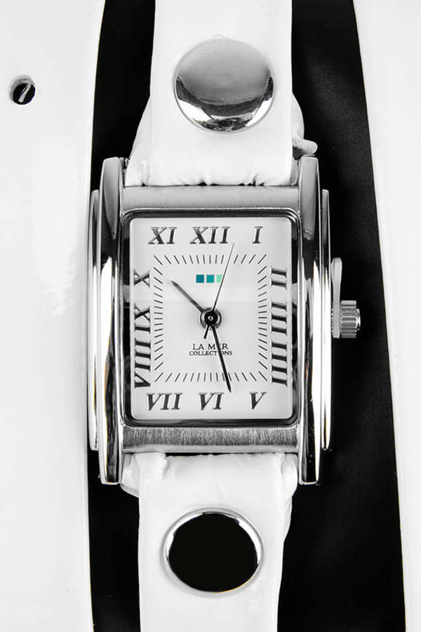La Mer Collections Simple Wrap Patent Watch