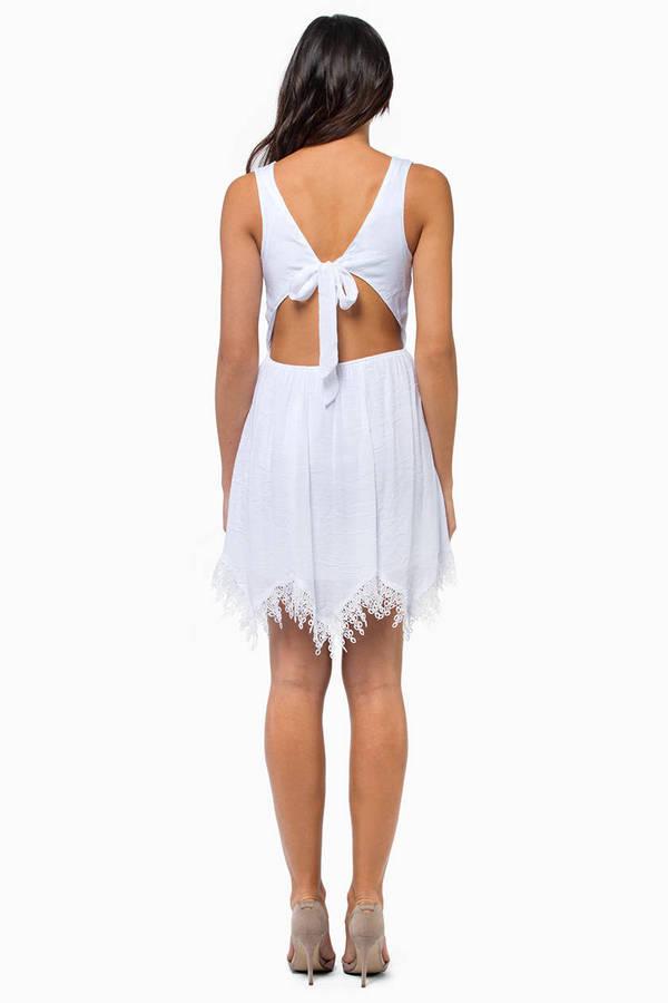 Rona Lace Trim Dress
