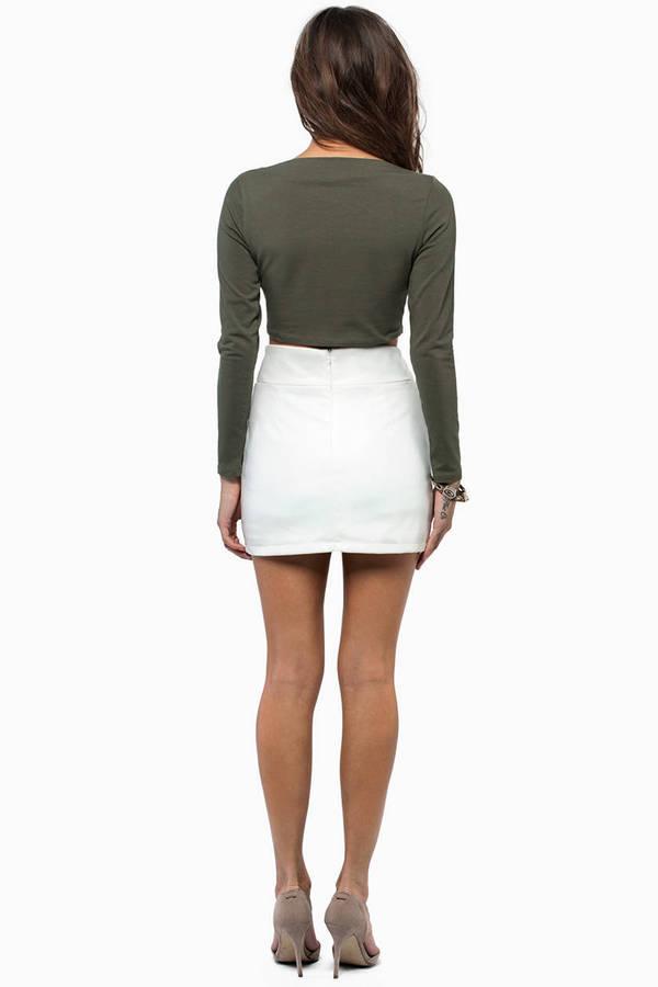 Rosalyn Cutout Skirt
