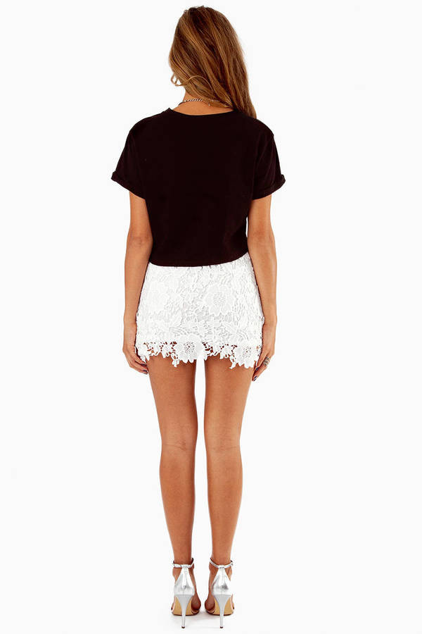 Serena Crochet Skirt