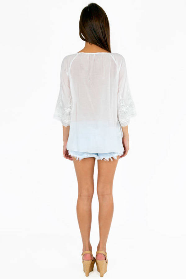 Silvery Emma Tunic Cover Up